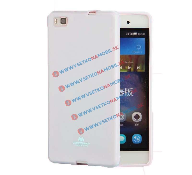 FORCELL Ochranný silikónový obal Huawei P8 biely