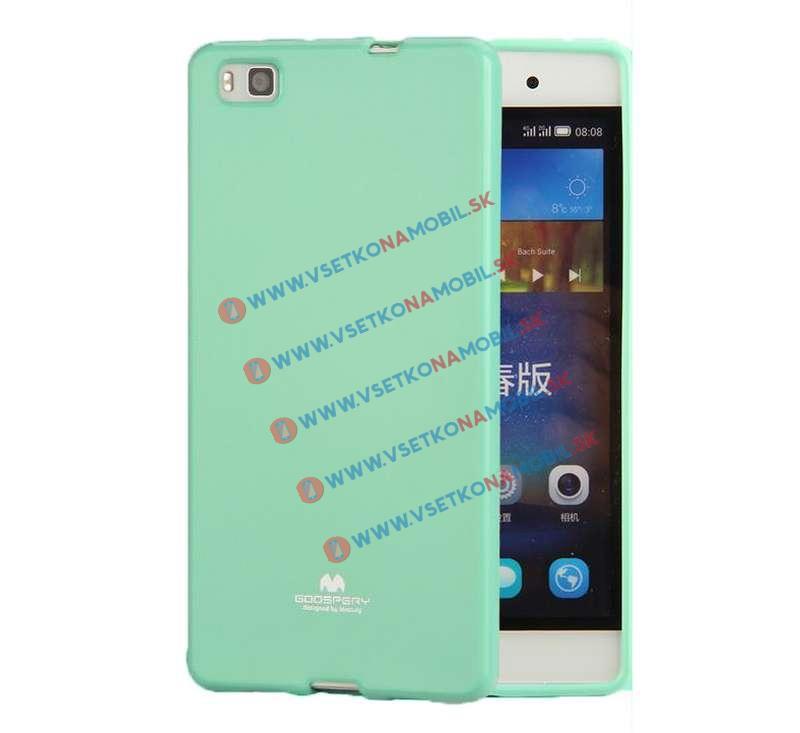 FORCELL Ochranný silikónový obal Huawei P8 zelený