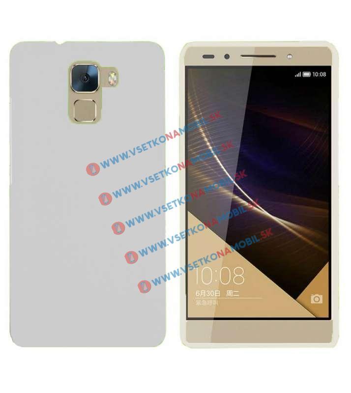 FORCELL Ochranný silikónový obal Huawei Honor 7 biely