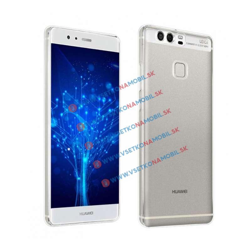 FORCELL Silikónový obal Huawei P9 priehľadný