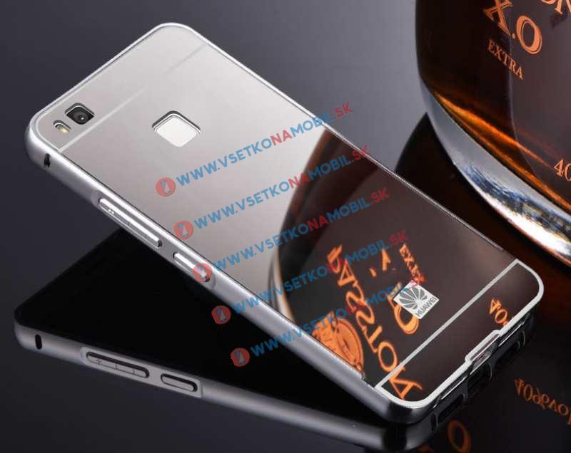 Ochranný zrkadlový obal Huawei P9 lite strieborný