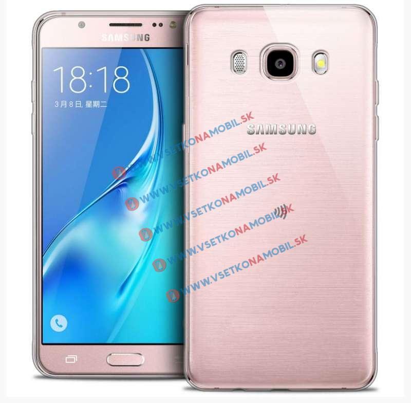 FORCELL Silikonový obal Samsung Galaxy J5 2016 průhledný