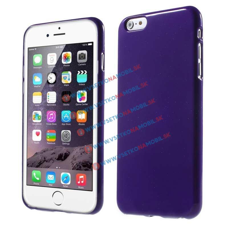 FORCELL Ochranný silikonový obal iPhone 6   6S fialový 1dc747d5ebf