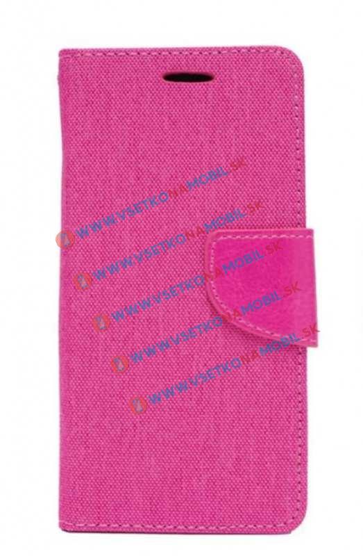 Peňaženkové púzdro Huawei Honor 7 ružové