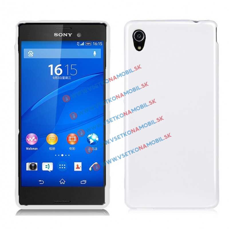 FORCELL Silikonový obal Sony Xperia M4 Aqua bílý