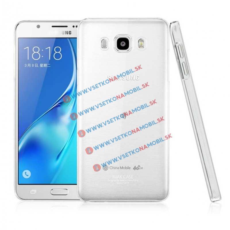 FORCELL Silikonové ochranné pouzdro pro Samsung Galaxy J7 2016 průhledné