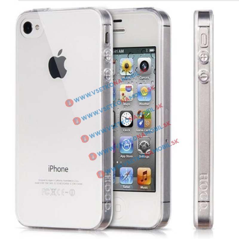 FORCELL Silikónový obal iPhone 4 / 4S priehľadný