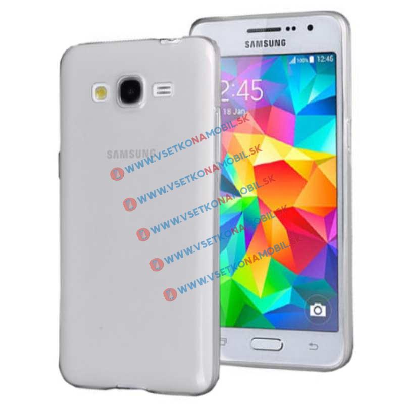 FORCELL Silikónový obal Samsung Galaxy Grand Prime priehľadný