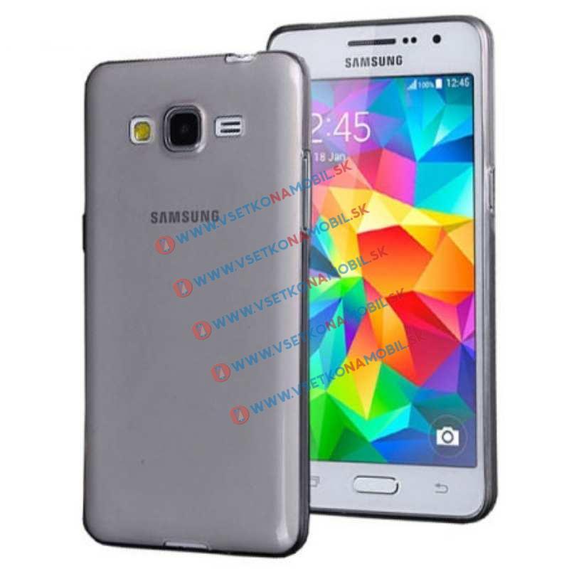 FORCELL Silikónový obal Samsung Galaxy Grand Prime šedý