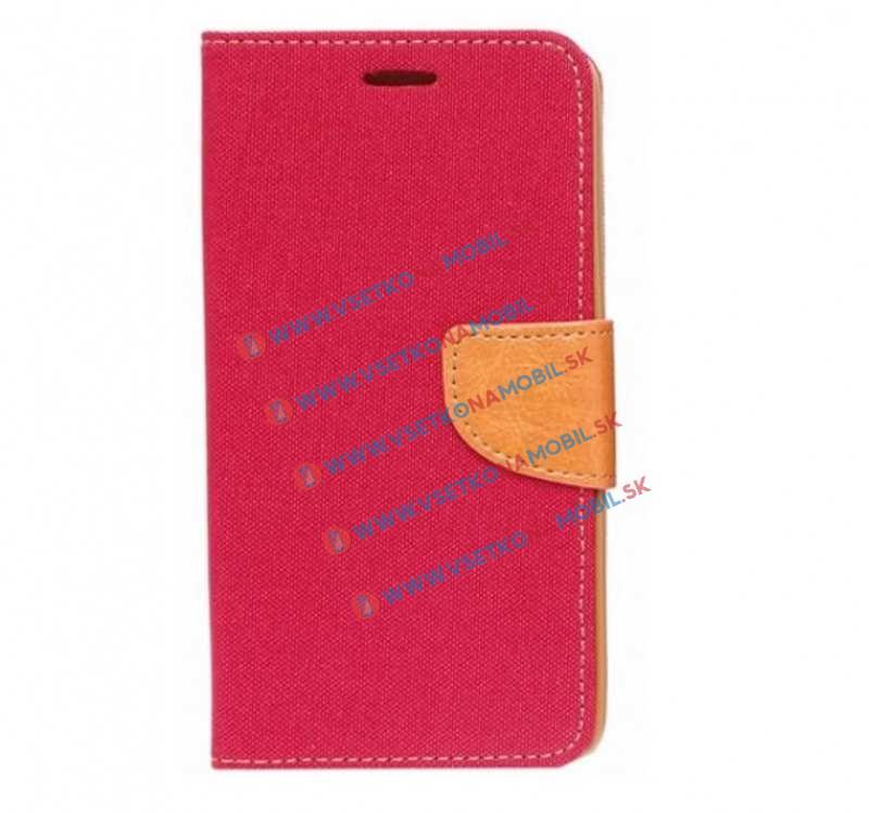 CANVAS Peňaženkové púzdro Huawei Honor 5X červené
