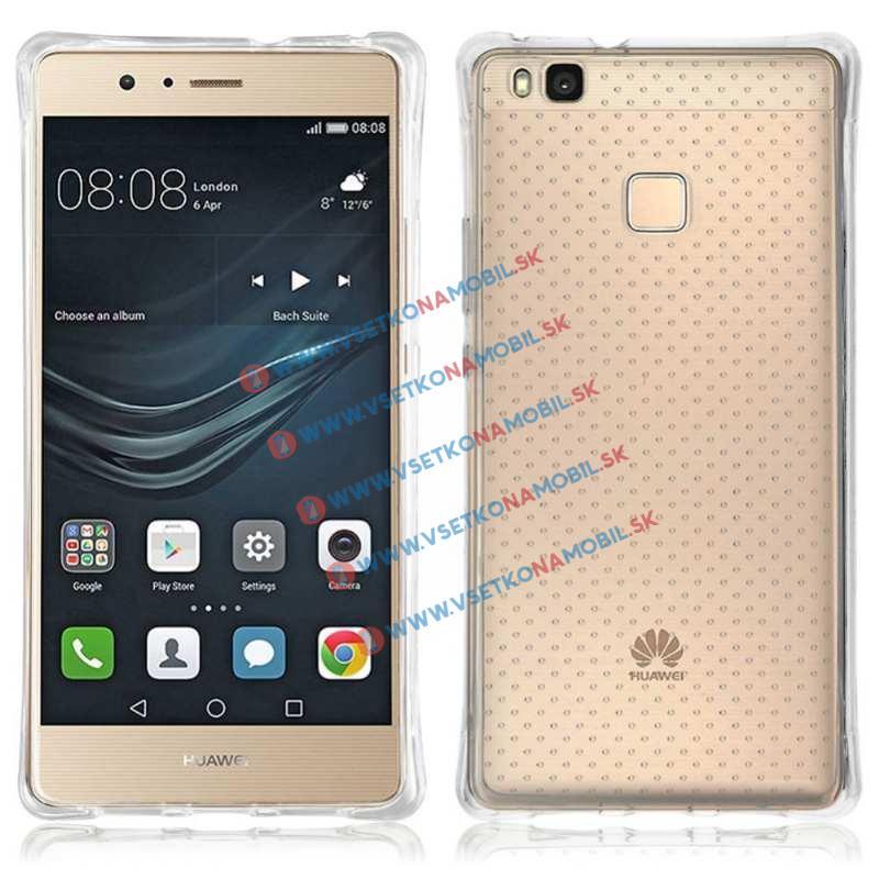 Odolný silikonový obal Huawei P9 lite průhledný