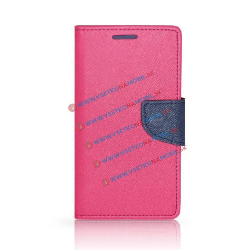 FANCY Peňaženkové púzdro Samsung Galaxy J5 2016 ružové strong