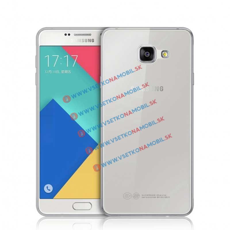 FORCELL Silikónový obal Samsung Galaxy A5 2016 šedý