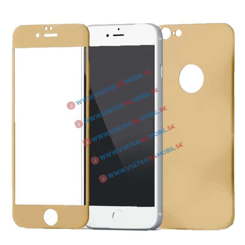 FORCELL 3D ALU Temperované sklo (PŘEDNÍ + ZADNÍ) Apple iPhone 6   6S zlaté b777976fc50