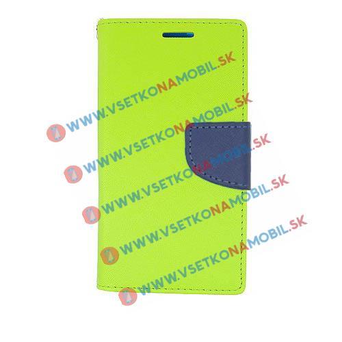 FANCY Peňaženkové pouzdro Huawei P9 lite zelené (lime)