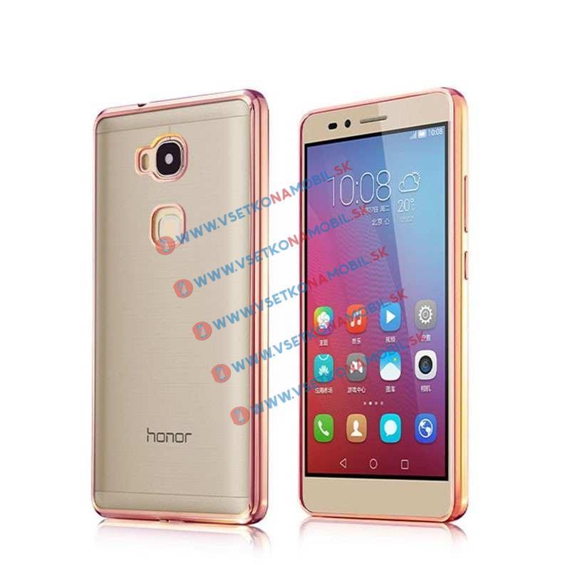 FORCELL Silikónový obal Huawei Honor 5X METALLIC ružový