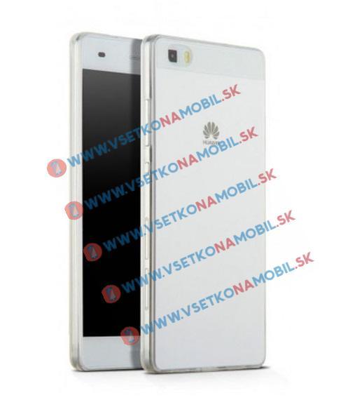 FORCELL Silikónový obal Huawei P8 lite priehľadný