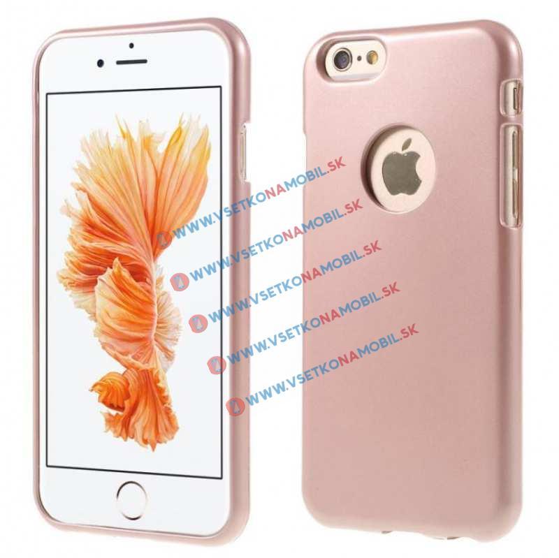 FORCELL Ochranný silikonový obal iPhone 6   6S zlatý 671366a8d1a
