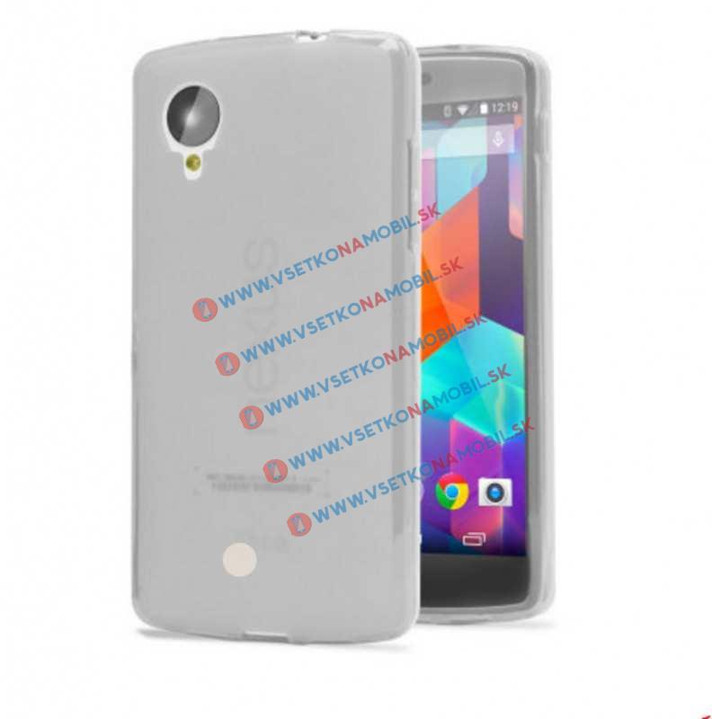FORCELL Silikonový obal LG Nexus 5 průhledný