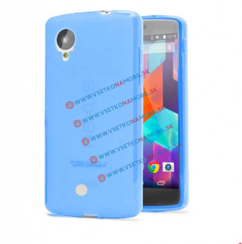 FORCELL Silikonový obal LG Nexus 5 modrý