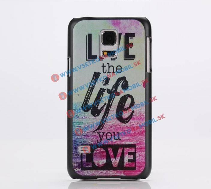 FORCELL Plastový kryt Samsung Galaxy S5 mini LIFE