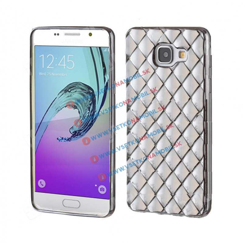 FORCELL Silikónový obal Samsung Galaxy A5 2016 čierny LUXURY