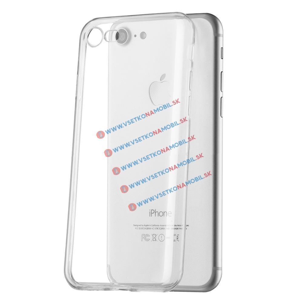 FORCELL Silikonový obal Apple iPhone 7 / iPhone 8 průhledný