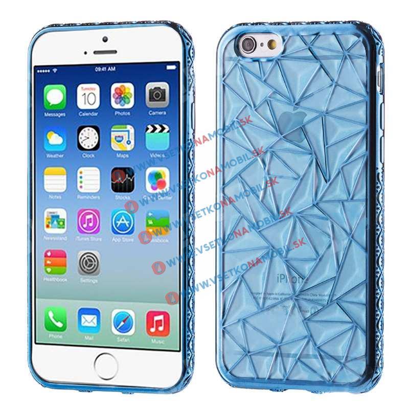 FORCELL Silikonový obal pro Apple iPhone 6 Plus / 6S Plus modrý