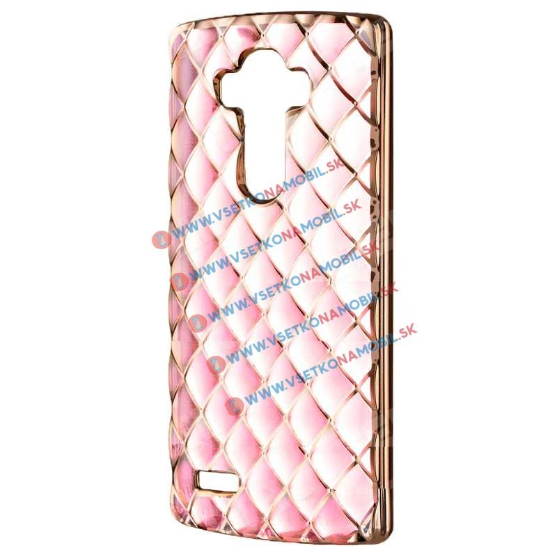FORCELL Silikónový obal LG G4 LUXURY ružový f6c1d4d249c