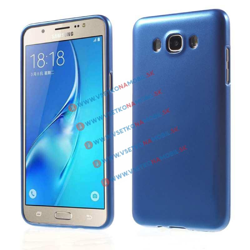 Gumený obal Samsung Galaxy J7 2016 modrý