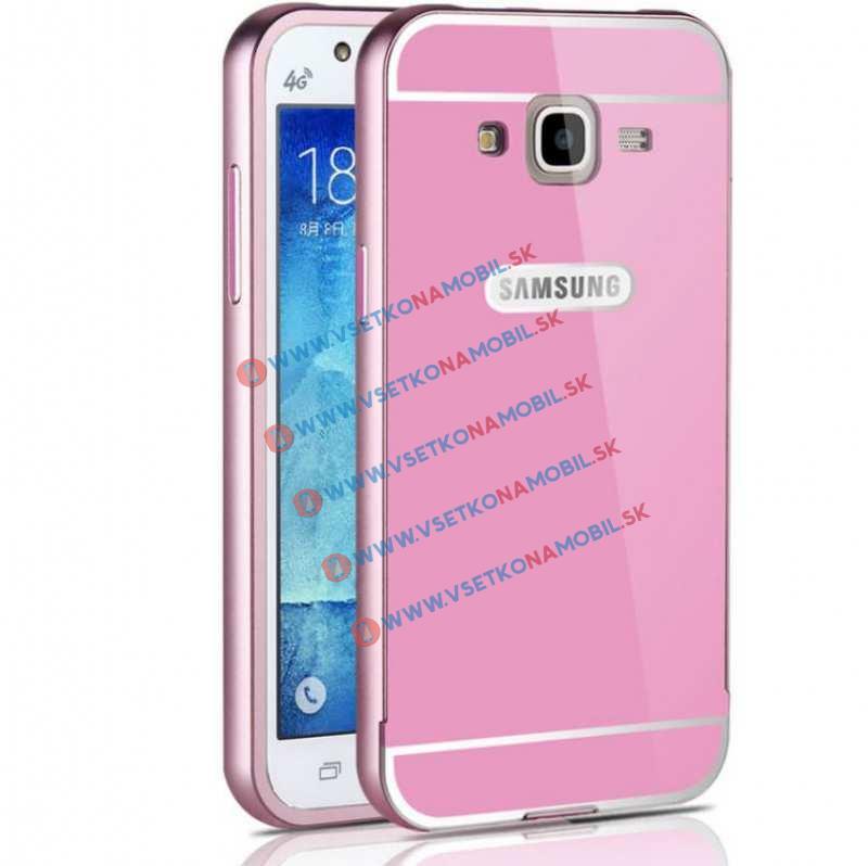 FORCELL MATTE Hliníkový kryt Samsung Galaxy J5 2015 (J500) ružový