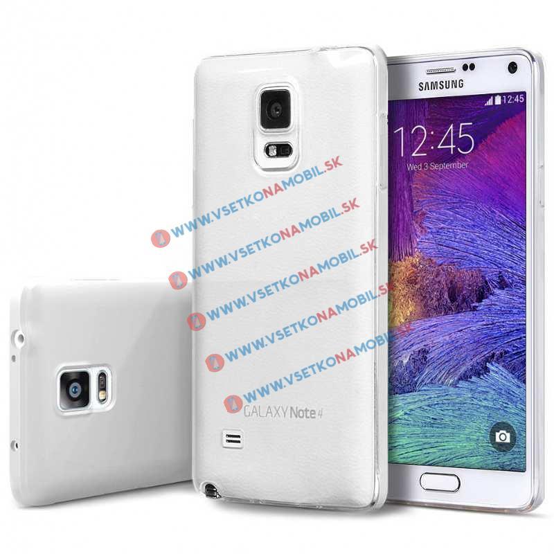 FORCELL Silikonový obal Samsung Galaxy Note 4 čirý