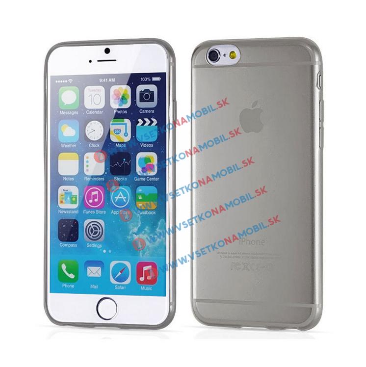 FORCELL Silikónový obal iPhone 6 / 6S šedý