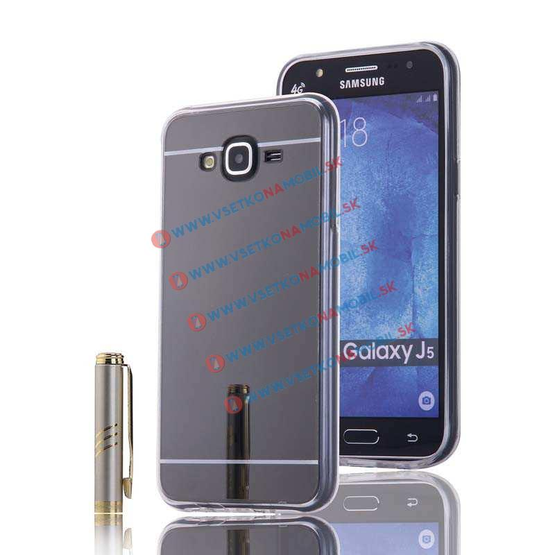 Zrkadlový obal Samsung Galaxy J5 2015 (J500) čierny