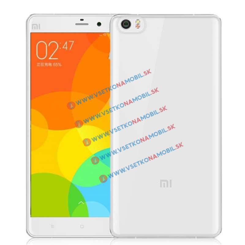 FORCELL Silikonový obal Xiaomi Mi Note průhledný