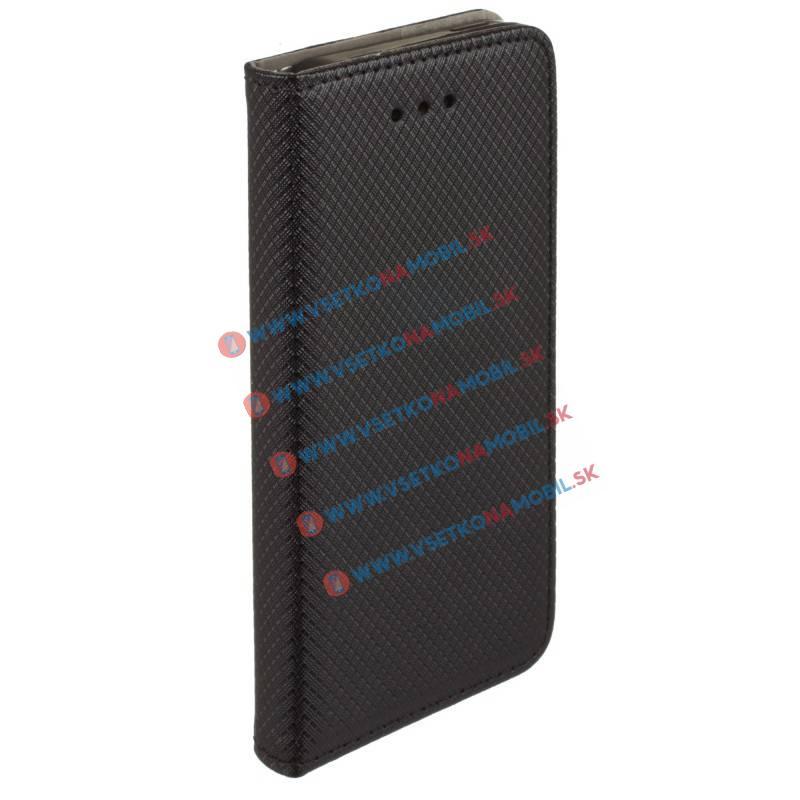 MAGNET Knižkové púzdro Huawei P8 lite čierne