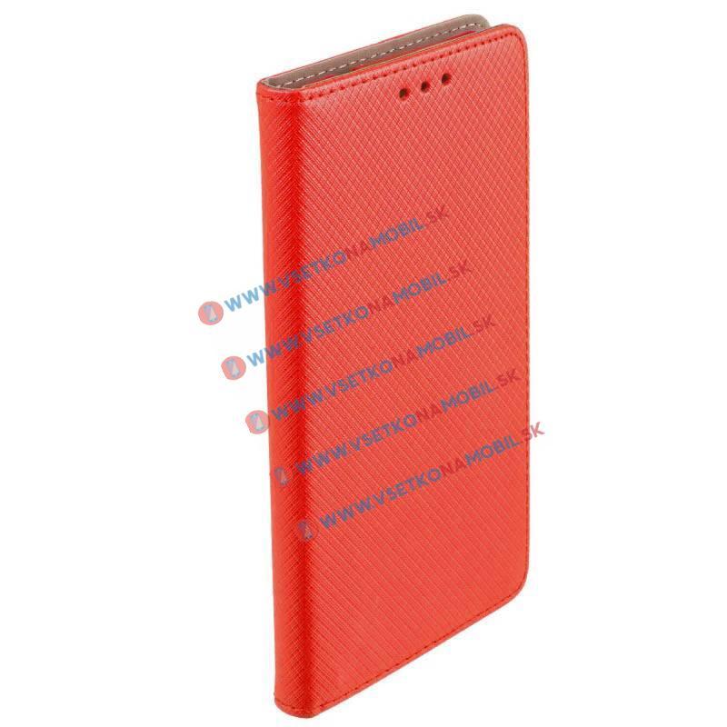 MAGNET Knižkové púzdro Samsung Galaxy Grand Prime G530 červené