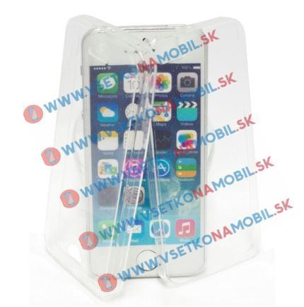 FORCELL Ochranný oboustranný obal Apple iPhone 5 / 5S / SE průhledný