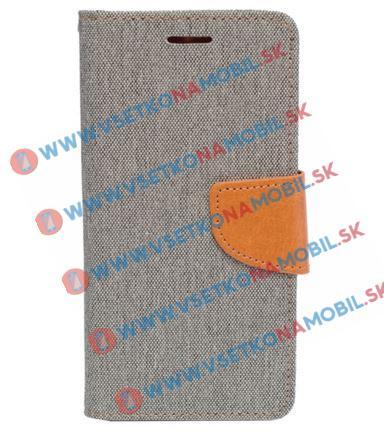 CANVAS Peňaženkové pouzdro Sony Xperia X šedé