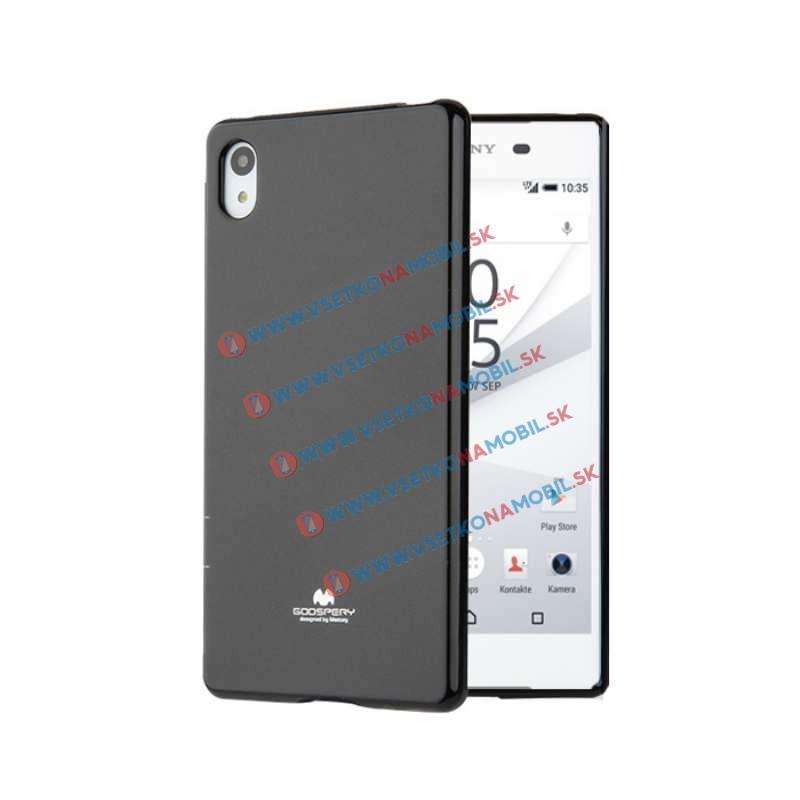 JELLY Gumený obal Sony Xperia Z5 čierny