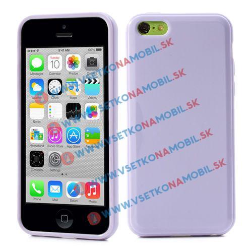 FORCELL Silikonový obal iPhone 5 / 5S / SE bílý