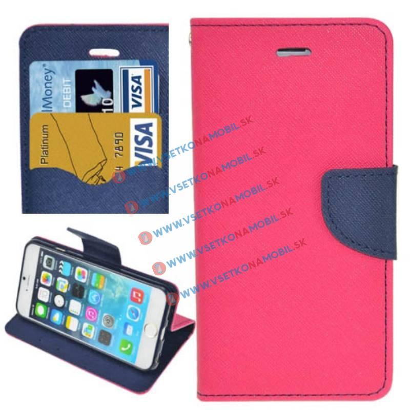 FORCELL FANCY Knížkové pouzdro Apple iPhone 5   5S   SE růžové f4c7acc8c13