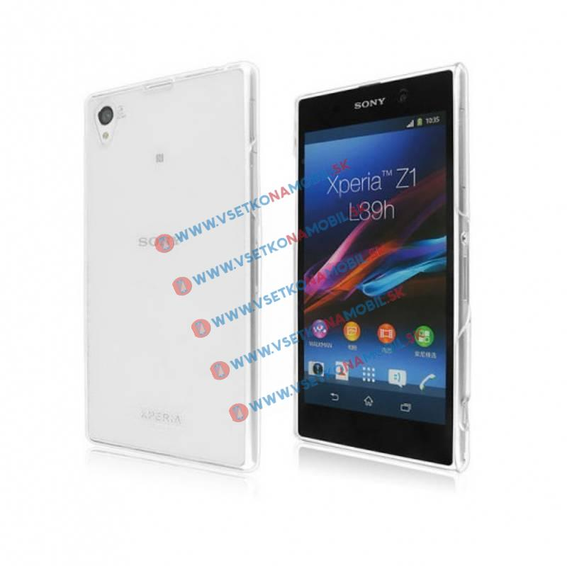 FORCELL Silikonový obal Sony Xperia Z1 průhledný