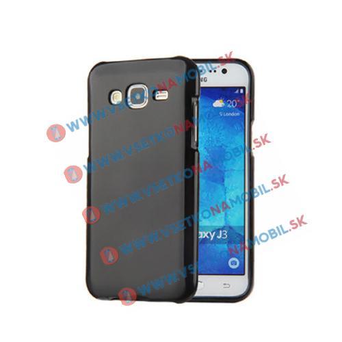 FORCELL Ochranný Silikónový obal Samsung Galaxy J3 J3 2016 čierny