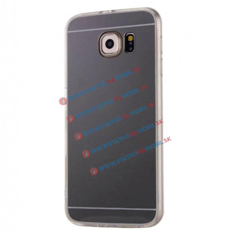 FORCELL Zrkadlový silikónový obal Samsung Galaxy S7 čierny