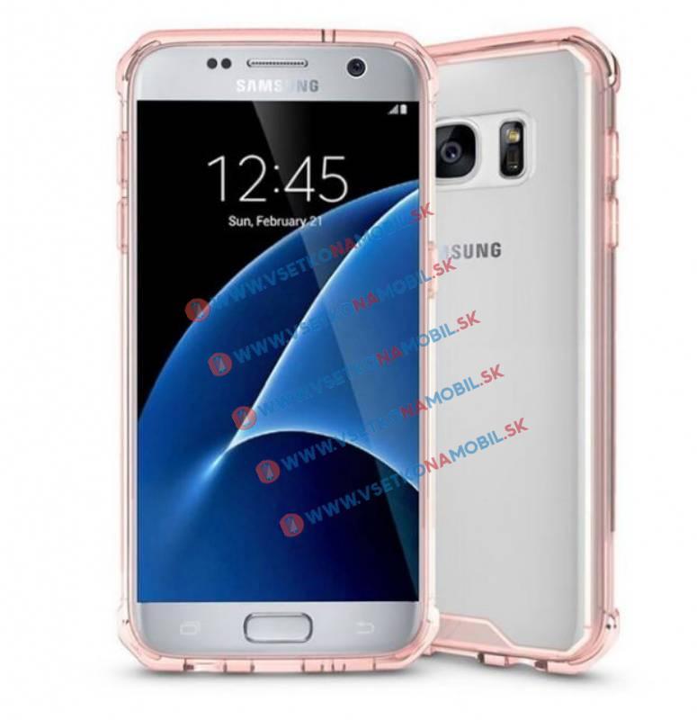 FORCELL SHOCK Odolný obal Samsung Galaxy S7 růžový