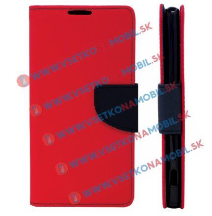 Peňaženkové pouzdro Sony Xperia M5 červené