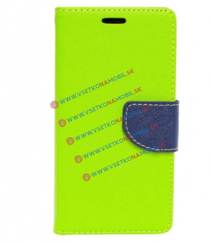 Peňaženkové pouzdro Sony Xperia M5 zelené