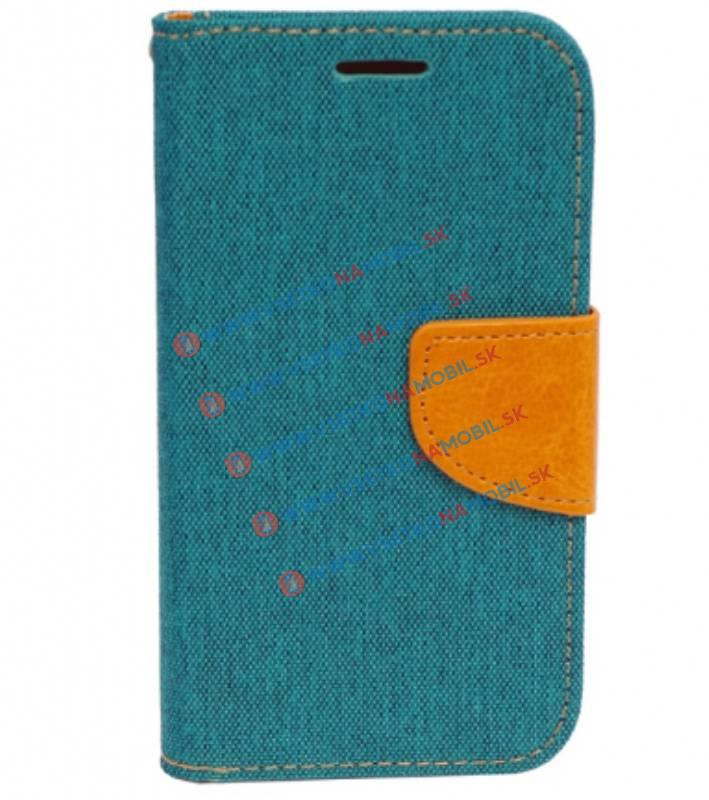 CANVAS Peňaženkový obal Samsung Galaxy J1 2016 zelený