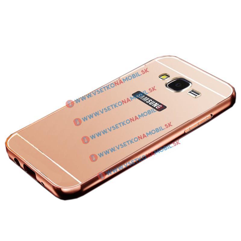 Zrkadlový obal Samsung Galaxy J5 2015 (J500) ružový
